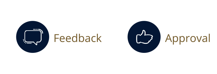 Feedback and Approval